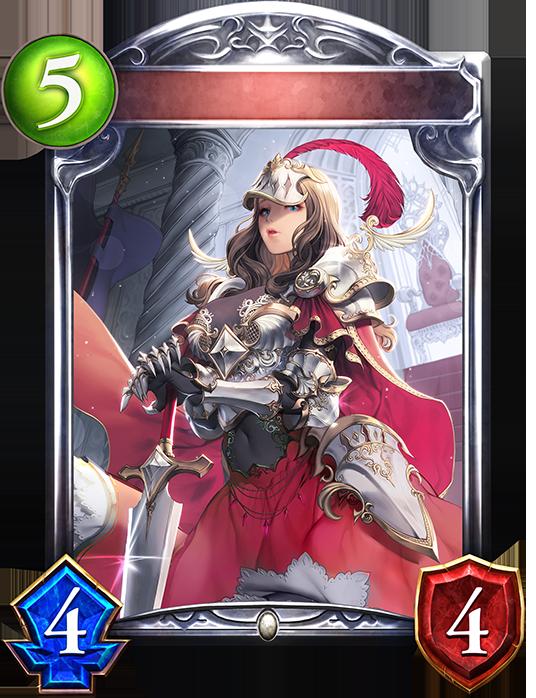 Unevolved Shrine Knight Maiden