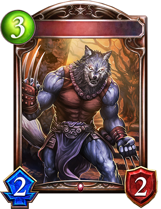 Unevolved Alpha Wolfman