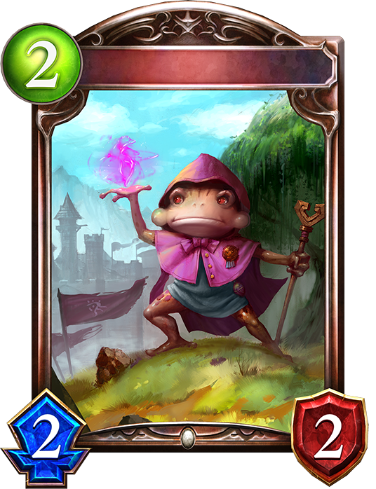 Unevolved Frog Cleric