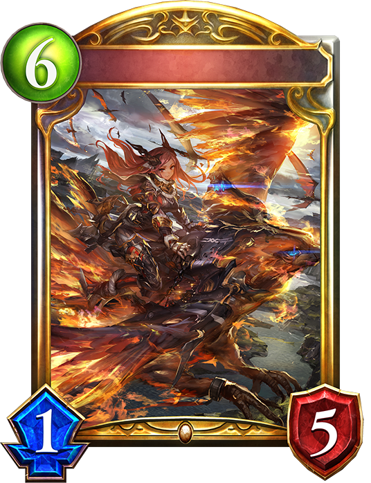 Unevolved Phoenix Rider Aina