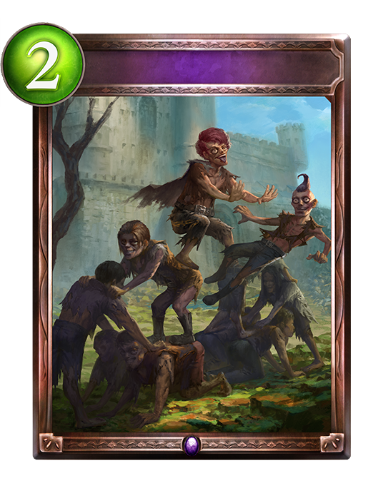 Unevolved Zombie Party