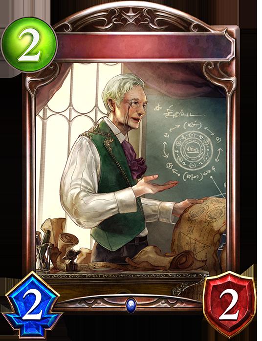 Unevolved Mr. Bertrand, Magic Mentor