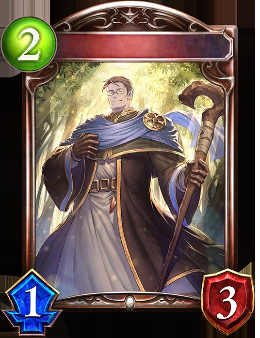 Unevolved Hazen, Priest of the Wind