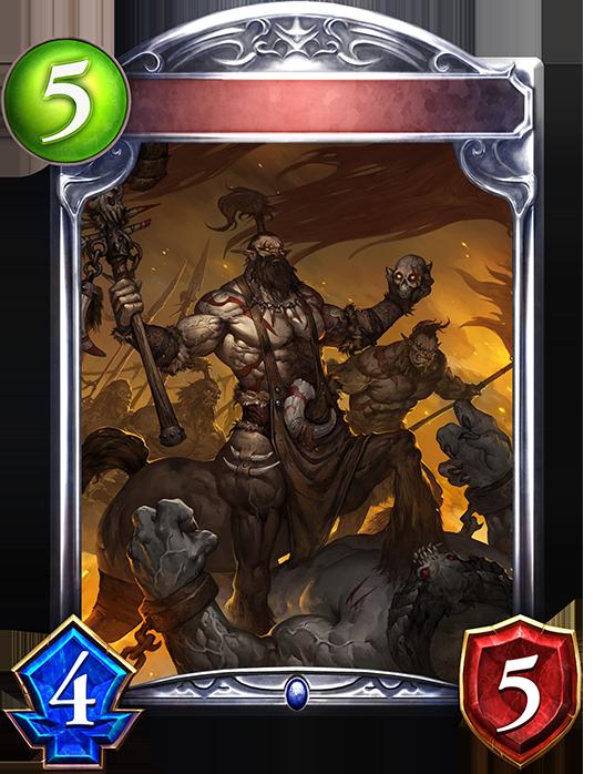 Unevolved Centaur Shaman