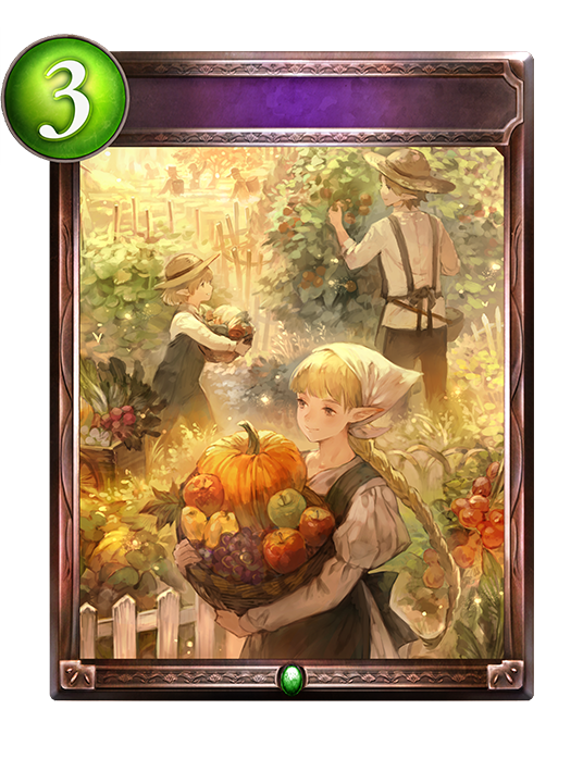 Unevolved Harvest Season