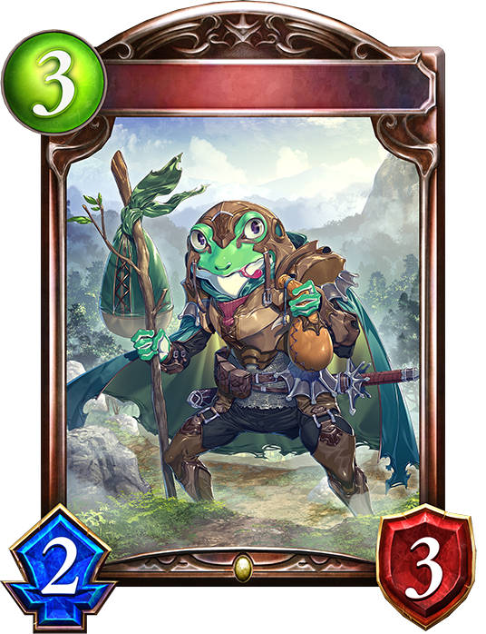 Unevolved Veteran Vagabond Frog