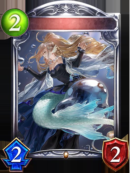Unevolved Bubbleborne Mermaid