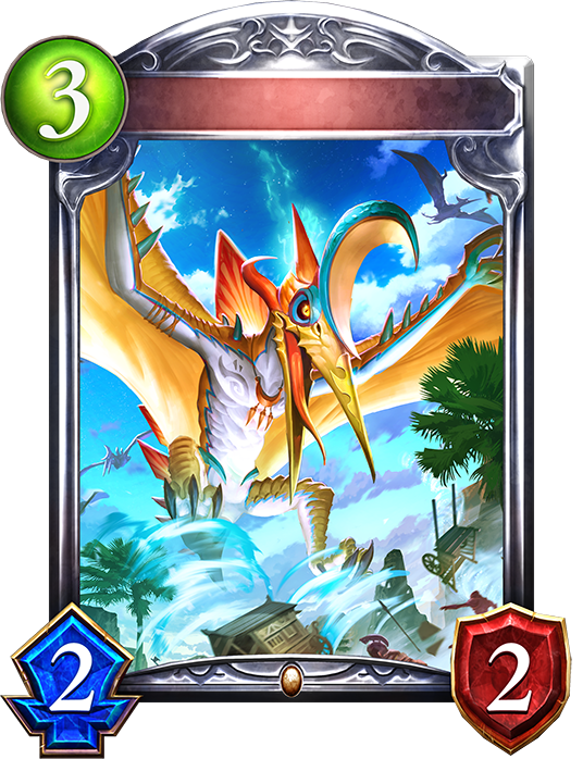 Unevolved Whirlwind Pteranodon