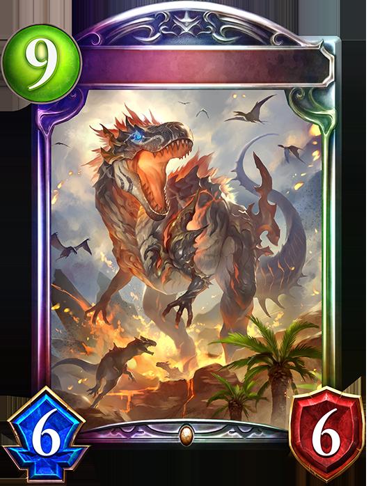 Unevolved Wildfire Tyrannosaur