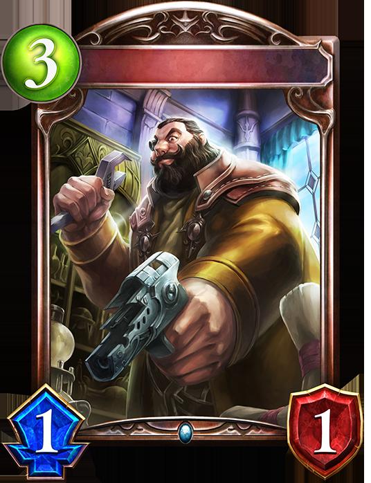 Unevolved Magic Gunsmith
