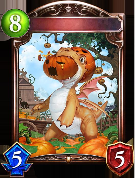 Unevolved Pumpkin Dragon