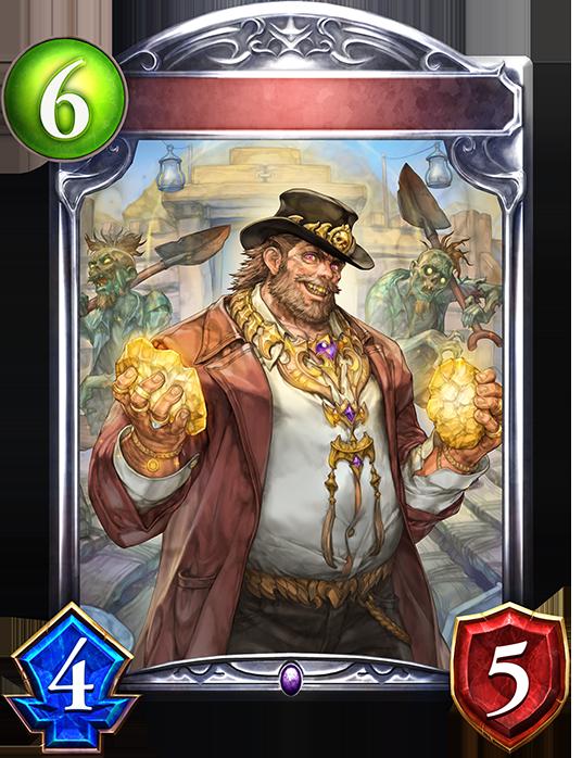 Unevolved Gold Mine Necromancer