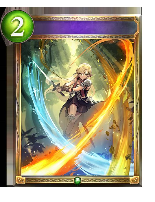 Unevolved Elemental Slash
