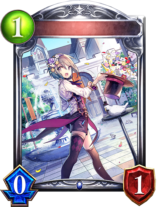 Unevolved Marie, Flowery Magician