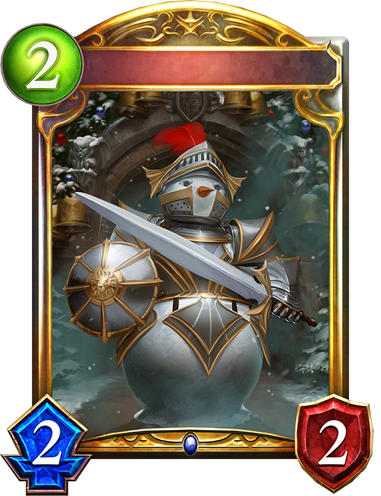 Unevolved Snow Knight