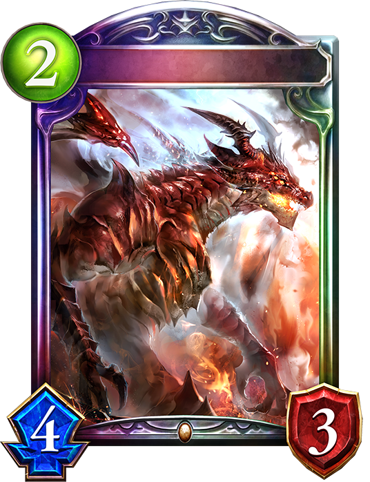 Unevolved Hellflame Dragon