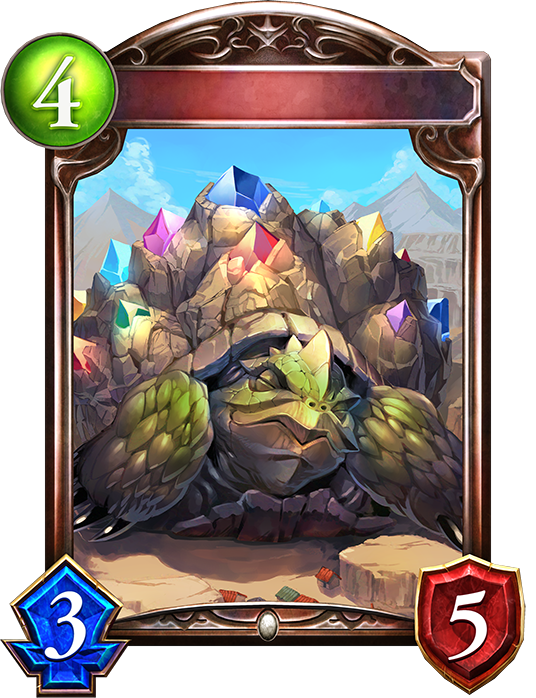 Unevolved Bejeweled Tortoise