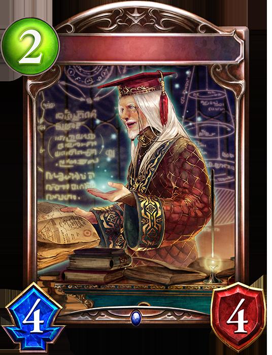 Evolved Mr. Bertrand, Magic Mentor
