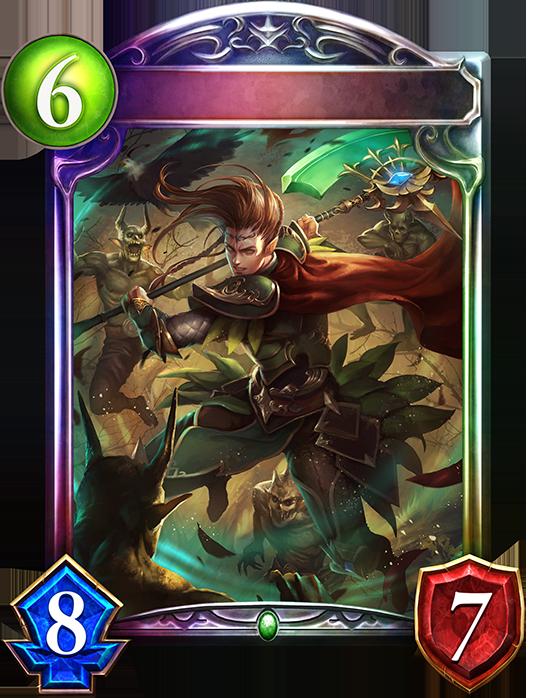 Evolved Greenglen Axeman
