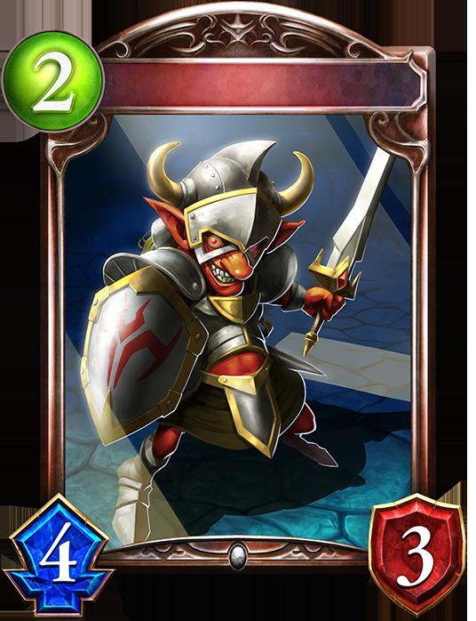 Evolved Goblin Fighter