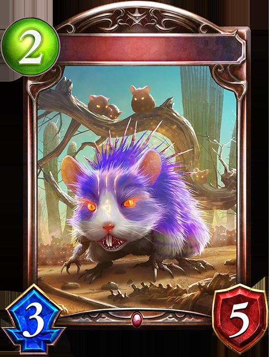 Evolved Bloodthirsty Hamster
