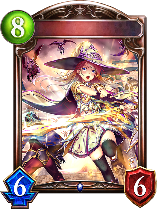 Evolved Magiblade Witch