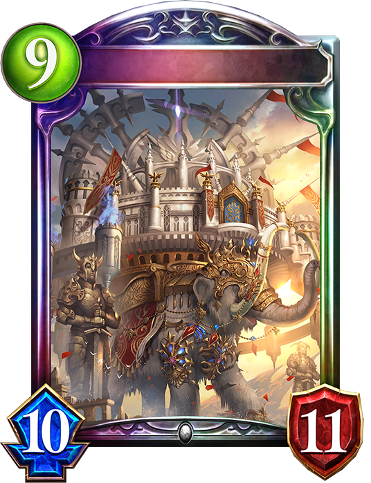 Evolved Mammoth God's Colosseum