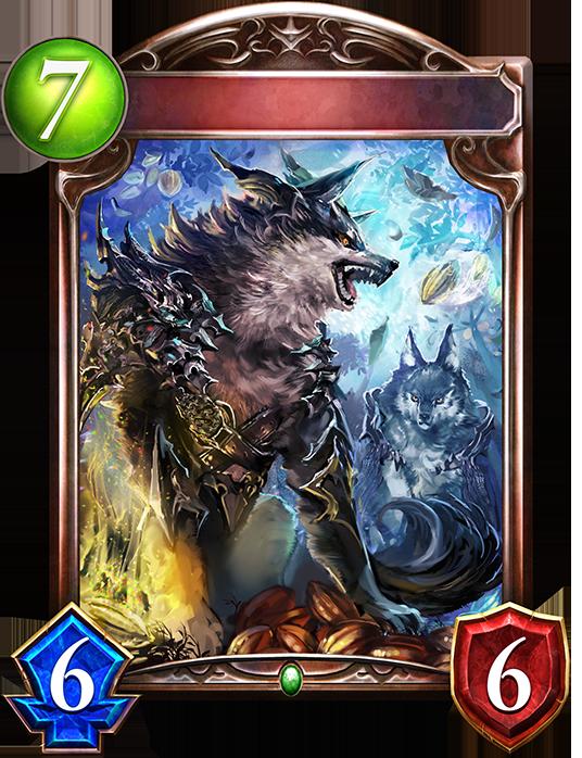 Evolved Deepwood Wolf