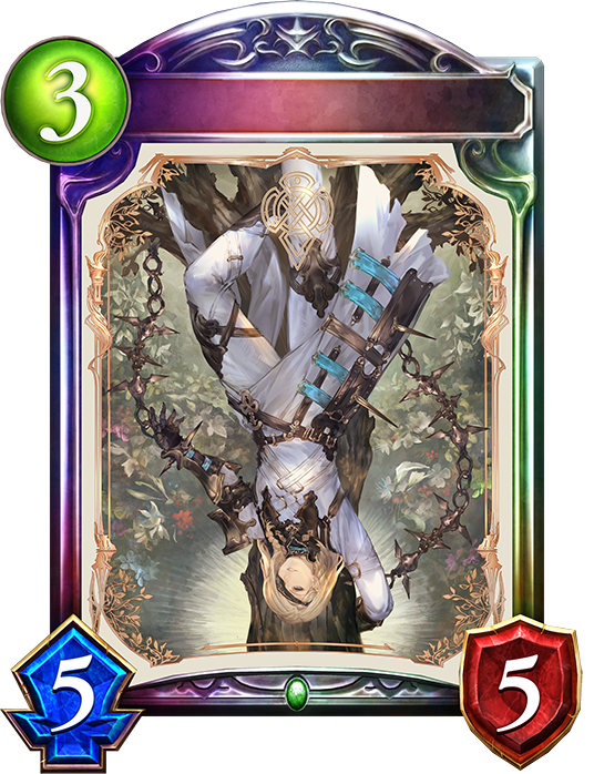 Evolved XII. Wolfraud, Hanged Man