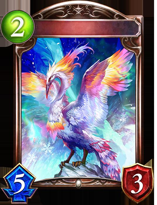Evolved Prismaplume Bird