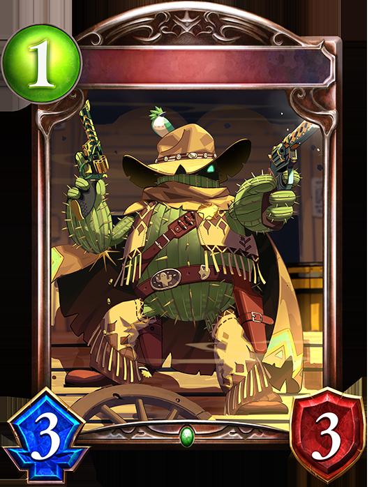 Evolved Cactus Cowboy