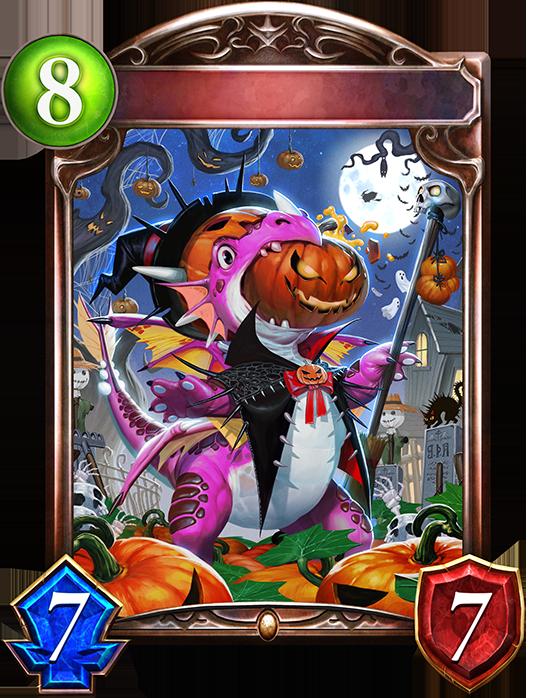 Evolved Pumpkin Dragon