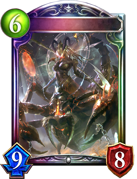Evolved Scorpion of Greed