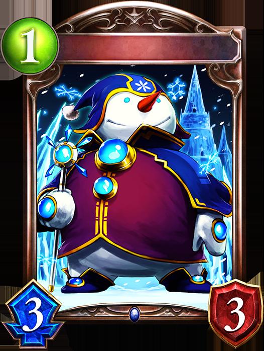 Evolved Snowman