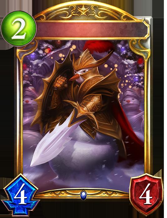 Evolved Snow Knight