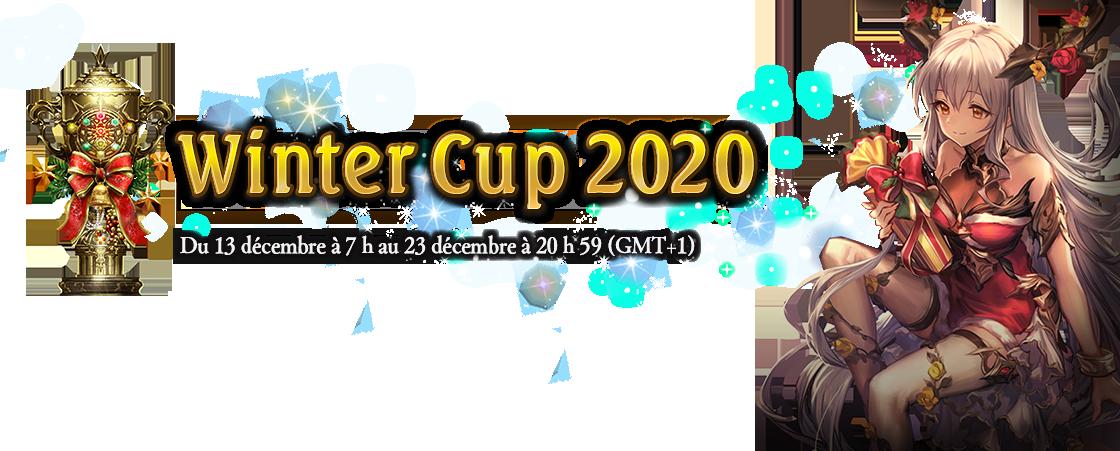 Winter Cup 2020 Du 13 décembre à 7 h au 23 décembre à 20 h 59 (GMT+1)